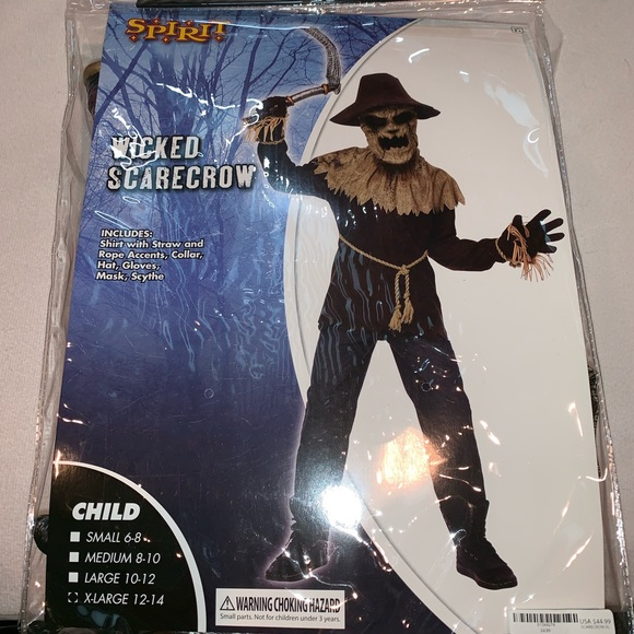 Brand New Wicked Scarecrow Child Halloween Costume